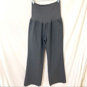 GAP MATERNITY Perfect Trousers Modern Boot Gray 8R